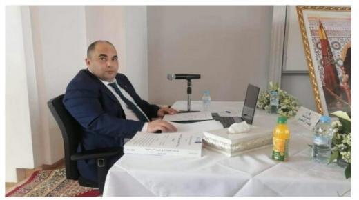 """الدكتوراه ل """" هشام الحسني """" وكيل الملك بطانطان"""