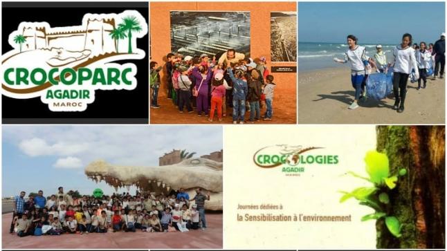 """أزيد من 2000 تلميذ يستفيدون من """" كروكولوجيا """" بيئية في أكادير"""