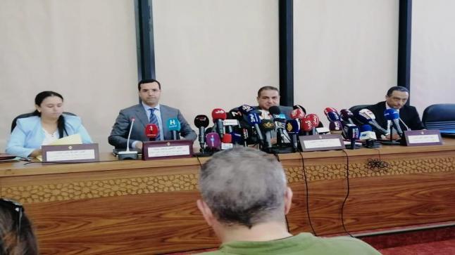 بالارقام ، الدخيسي يستعرض الحصيلة الإيجابية للعمليات الأمنية على الصعيد الوطني