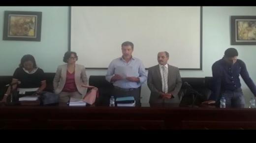 رفض أطروحة دكتوراه بنكيران بأكادير + فيديو