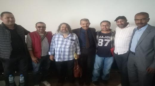 لقاء تواصلي للمدير الجهوي للثقافة باكادير مع ممثلي النقابات المهنية الفنية .