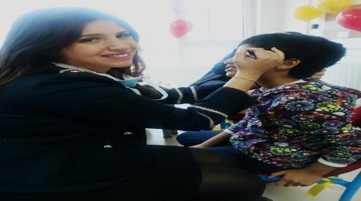 احتفاء بالاطفال المصابين بالسرطان في اجواء حميمية بمبادرة الفاعلة الجمعوية هبة زيزي