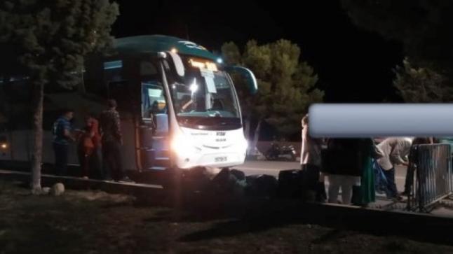 توقيف سائق الحافلة المتهور ناقل الفيروس من الداخلة الى أكادير