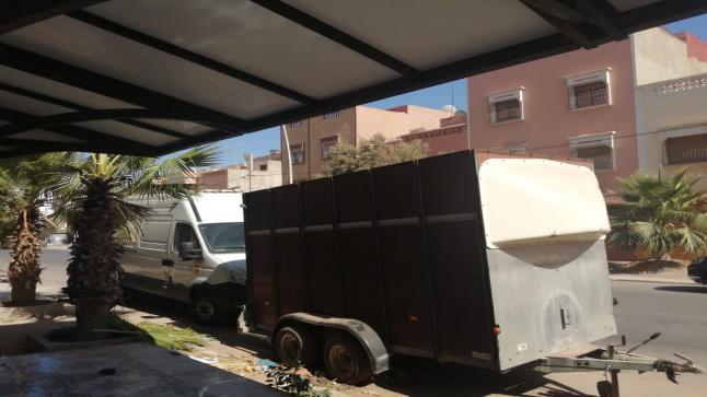 عربة مجرورة تغضب ساكنة ومواطني حي الجهادية بإنزكان