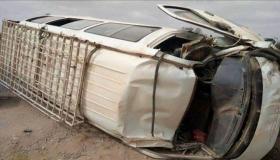 مصرع سائق للنقل المزدوج في حادثة سير خطيرة بأولاد تايمة