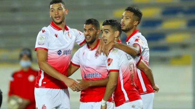 الوداد الرياضي يتربع على صدارة الدوري المغربي