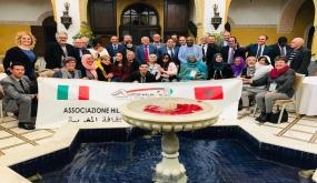 جمعية الهلال بإيطاليا تواصل سلسلة رحلات تواصل الأجيال مع الوطن الام.