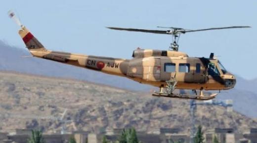 وفاة شخصين إثر سقوط مروحية تابعة للقوات الملكية الجوية