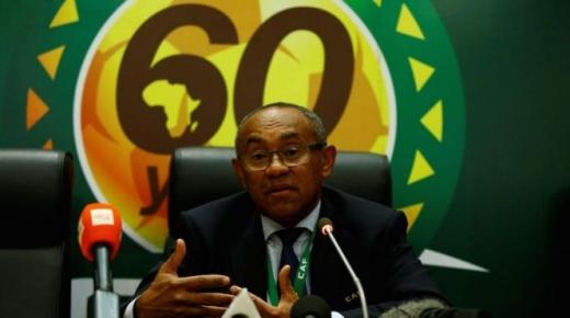 """""""أحمد أحمد"""" رئيس """"الكاف"""" بين يدي الشرطة الفرنسية بتهمة الفساد"""