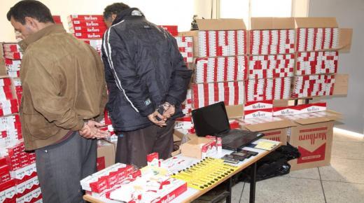 توقيف عصابة تنشط في تهريب التبغ والمعسل بطانطان