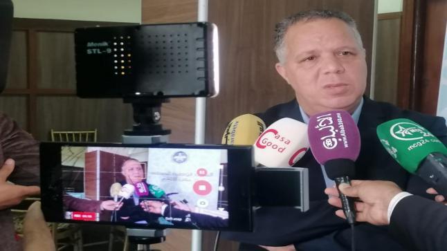 توفيق ناديري: نحن نقابة مهنية ولسنا حزبا سياسيا أو جمعية حقوقية