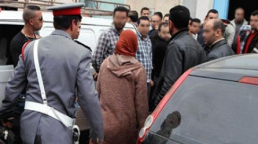 اعتقال متزوجة في أحضان عشيقها ببلفاع