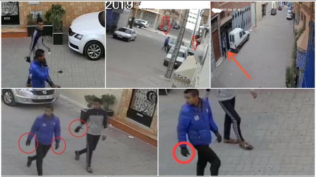 ايت ملول : تفاعل سريع لمصالح الامن مع شريط فيديو يقود لاعتقال متورطين في سرقات متعددة داخل السيارات