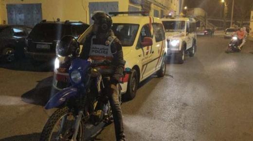 أكادير: إنزال أمني كثيف بعدد من الأحياء لمحاربة الجريمة، والعمليات المتواصلة تسفر عن توقيف العشرات بحي السلام