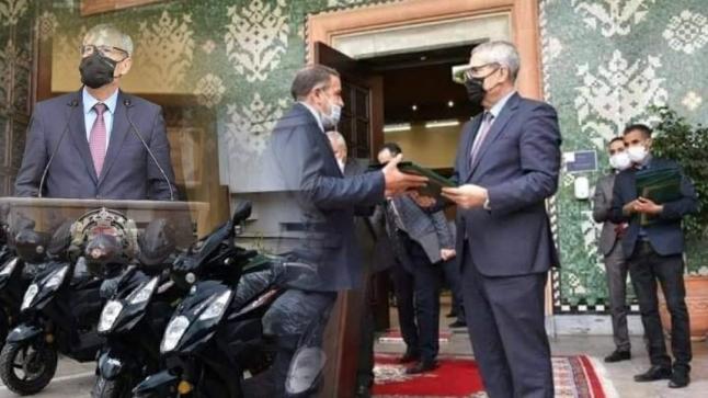وزارة العدل يمنح 350 دراجة نارية لموظفي التبليغ القضائي
