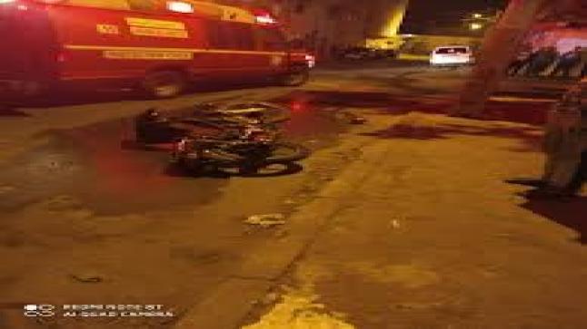 سيارة تصدم سائق دراجة نارية بأيت ملول وتلوذ بالفرار لوجهة مجهولة