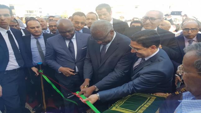 بوريطة يشرف على افتتاح قنصلية دولة غامبيا بالداخلة