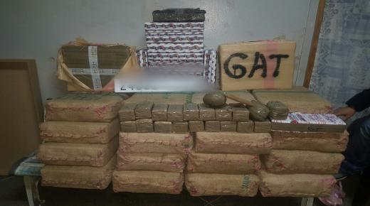اكادير : يقضة وحنكة المصالح الامنية تمنع 500 كيلو من مخدر الشيرا و42 كيلو من الكوكايين من الدخول للمدينة ، وهذه التفاصيل