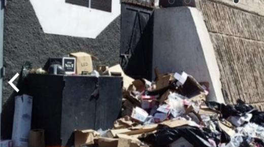 اكادير : نشطاء مستاؤون من تشويه للمنظر العام بسبب المقاهي التي لا تحترم معايير النظافة