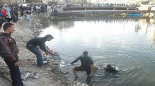 إجلاء جثة غريق بوادي سوس في إنزكان
