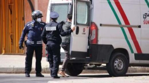 توقيف عصابة إجرامية بطلها سائق سيارة إسعاف