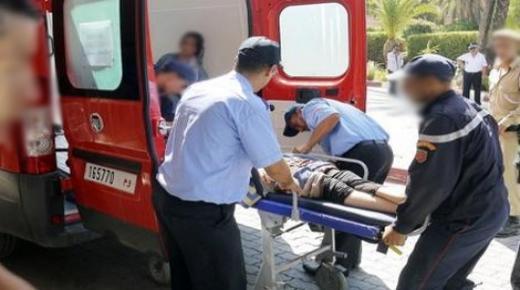 سيارة تقتل إمرأة وترسل أُخْرَيَيْن للمستشفى في حالة خطيرة بأكادير
