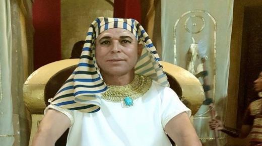 لهذا السبب ظهر الستاتي في هيئة فرعون