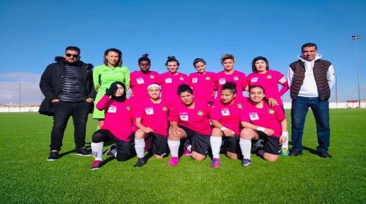كرة القدم النسوية بالتمسية تعاني
