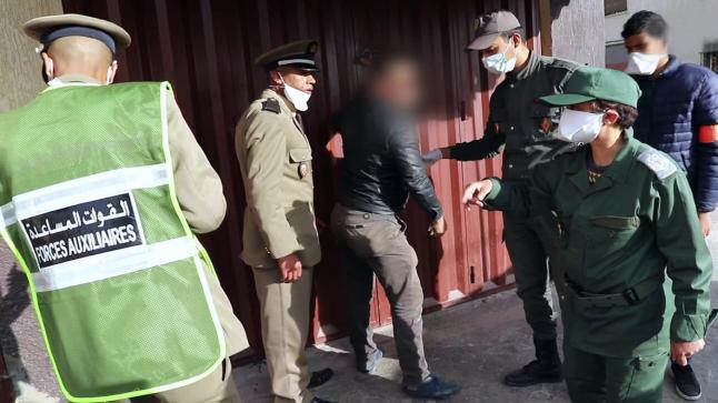 """الداخلية تتجه لترقية """" رجال سلطة """" أبطال كورونا"""