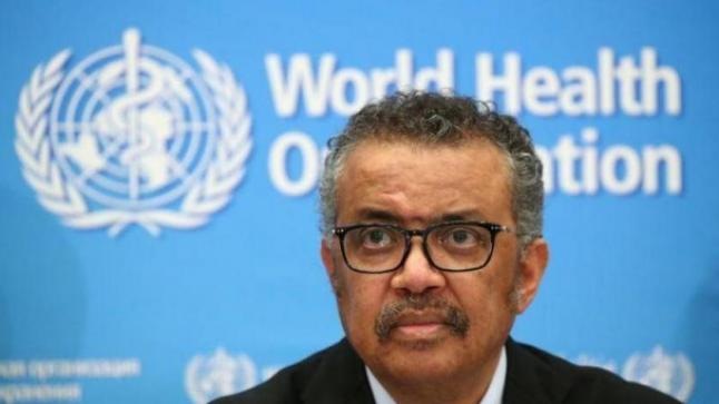 المدير العام لمنظمة الصحة العالمية في العزل إثر مخالطته مصابا بكوفيد-19