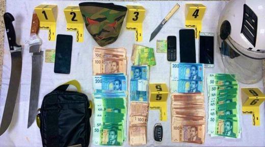 القاء القبض على مقترفي سرقة الوكالة البنكية