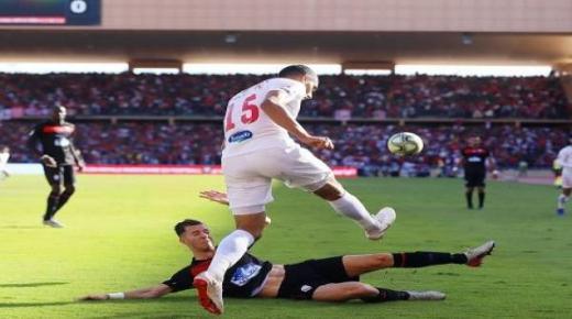 التعادل ينهي المباراة بين الحسنية والمغرب التطواني