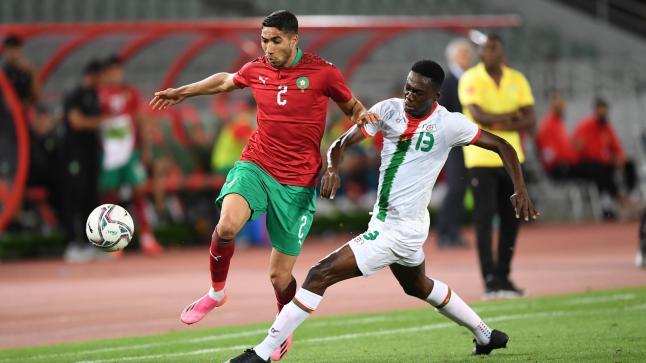 المنتخب الوطني المغربي ينتصر على بوركينافاسو في ثاني المواعيد الودية