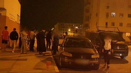 توقيف قاصرين عربدو بالشارع العام وكسرو سيارات المواطنين لأكادير
