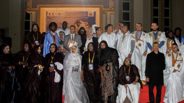 تجاوب كبير للجمهور الصحراوي خلال اليوم الأول من المهرجان الدولي للمديح