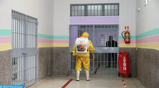إجراء اختبارات خاصة للكشف عن فيروس كورونا لعينات داخل مختلف المؤسسات السجنية