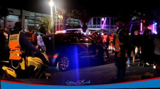 فيديو : أقوى تدخلات العناصر الأمنية بمهرجان تيميتار بأكادير