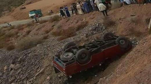 """هلاك شخص في حادث سقوط """" بيكوب """" نواحي تارودانت"""