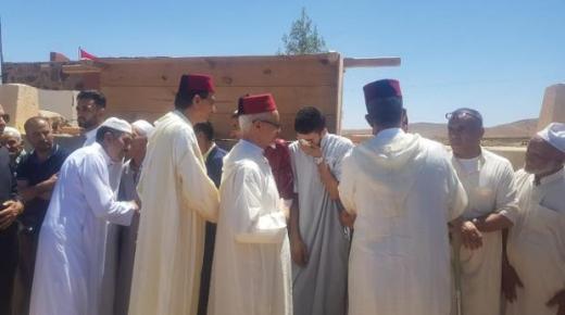 عامل تارودانت على رأس وفد رسمي يحل بتالوين لتعزية أسر ضحايا فاجعة الحوز