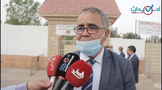 جاي منصور:ممتحنو الباك في سوس خلقوا الاستثناء بانضباطهم..وحالات الغش عرفت تراجعا