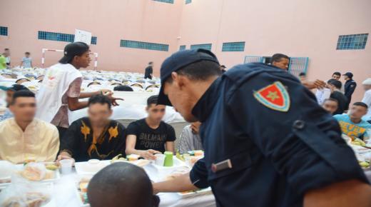 إفطار وأمسية فنية لنزلاء سجن محلي بطاطا