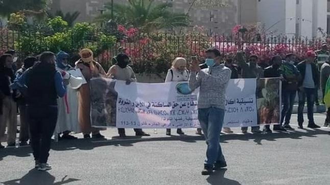 جمعيات تحتج ضد اعتداءات الرعاة الرحل بسيدي إفني