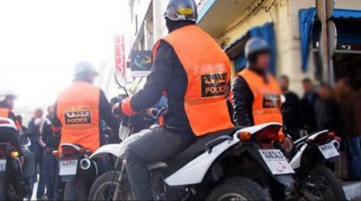 نشطاء يوجهون تحايا للصقور الأمنية في أكادير.