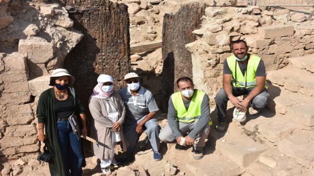 العثور على باب قصبة أكادير أوفلا يرجع تاريخه إلى عهد السعديين (صور)
