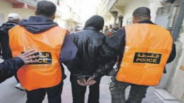 """إعتقال """" جانح """" متهم بالسرقات تحت التهديد في إنزكان"""