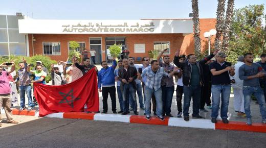 """مستخدمو الطرق السيارة بالمغرب يتهمون إدارتهم بـ """"عدم الوفاء بالتزاماتها طبق الميثاق الاجتماعي"""""""