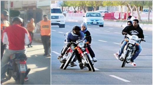 الشرطة القضائية تتصدى لإزعاج للدرجات النارية في آيت ملول