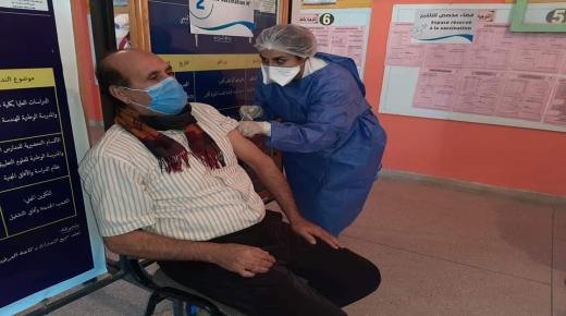 بالصور:نساء ورجال التعليم بالمديرية الإقليمية إنزكان ايت ملول يتلقون جرعة اللقاح المضاد لكوفيد 19…