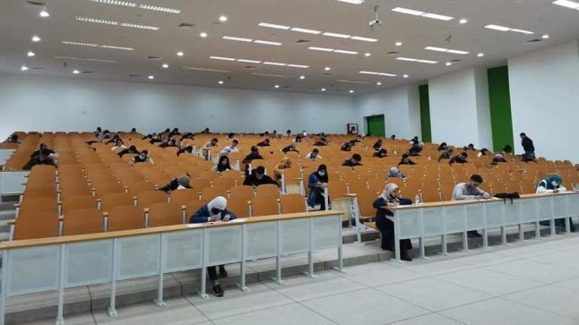 كلية اللغات والفنون والعلوم الإنسانية أيت ملول أول كلية تنهي امتحانات الدورة الخريفية العادية بالمغرب