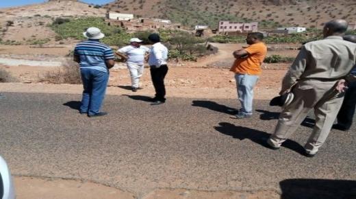 السلطات تعاين بؤر الفيضانات باقليم سيدي افني